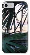The Peeking Palms IPhone Case