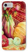 The Red Shawl  IPhone Case
