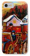The Village Of Saint Jerome IPhone Case