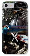 The Zebra In Colour IPhone Case