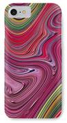 Thick Paint Abstract IPhone Case