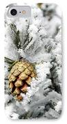 Three Pinecones IPhone Case