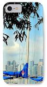 Toronto Through A Forest Of Masts IPhone Case
