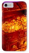 Treasure Chest With Gold Coins IPhone Case