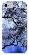 Tree Fantasy In Blue IPhone Case