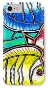 Tropical Fish Swim IPhone Case