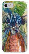 Tropical Palm Inn IPhone Case