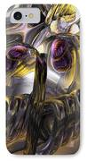Tropical Wind Abstract IPhone Case