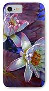 Two Pink Water Lilies IPhone Case
