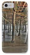 Under The Boardwalk Pier Sunbeams  IPhone Case