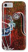 Upright Bass Close Up IPhone Case