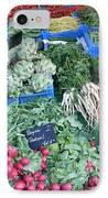 Vegetables At German Market IPhone Case