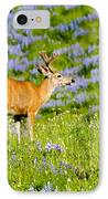 Velvet On Lupine IPhone Case