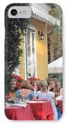 Vienna Restaurant In The Park IPhone Case