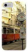Vienna Streetcar IPhone Case