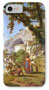 View Of Capri IPhone Case