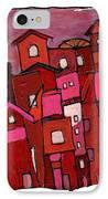 Village In Pink IPhone Case