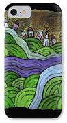 Village On The Hill IPhone Case
