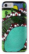 Villlage By The Pond IPhone Case