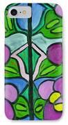 Vintage Violets IPhone Case