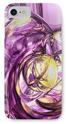 Violet Summer Abstract IPhone Case
