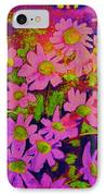 Violets Among The Heather IPhone Case