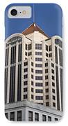 Wachovia Tower Roanoke Virginia IPhone Case