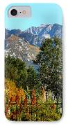 Wasatch Mountains In Autumn IPhone Case