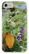 Water Plants And Flower IPhone Case