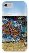 Water Tank Graffiti IPhone Case
