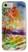 Watercolor  100507 IPhone Case