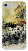 Watercolor  130708 IPhone Case