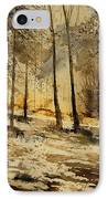 Watercolor  191106 IPhone Case