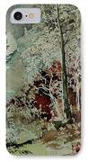 Watercolor 200307 IPhone Case