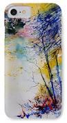 Watercolor 902081 IPhone Case