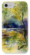 Watercolor  908010 IPhone Case
