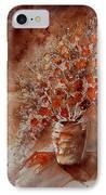 Watercolor Autumn Bunch IPhone Case