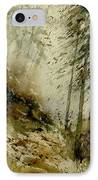 Watercolor Misty Atmosphere  IPhone Case