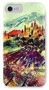 Watercolor  Provence 07 IPhone Case