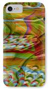 Waves And Patterns IPhone Case