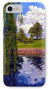 Weeping Willow - Brush Colorado IPhone Case