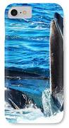 Whale's Opening Mouth IPhone Case