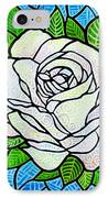 White Rose  IPhone Case