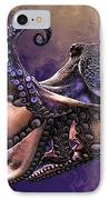 Wild Octopus IPhone Case