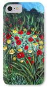 Wildflower Garden 1 IPhone Case