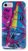 Wind Surfers In Nassau IPhone Case