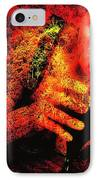Wine Woman And Fall Colors IPhone Case