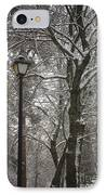 Winter Lamp Post IPhone Case