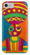 Women With Calabashes IPhone Case
