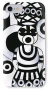 Women With Calabashes IIi IPhone Case
